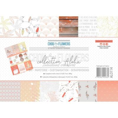 PAPIERS FORMAT A4 300G COLLECTION ALOHA