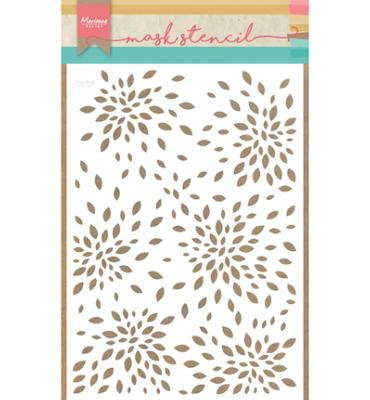 Marianne Design - Pochoir - Masque Tiny's Petals