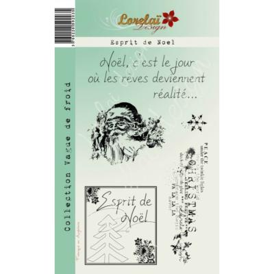 Tampon Clear DUO CALENDRIER VACANCES