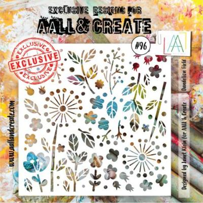 AALL and Create Stencil -Dandelion Fied 96