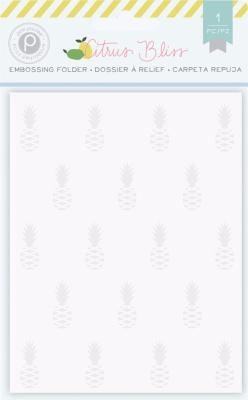 EMBOSSING FOLDER - PINEAPPLE