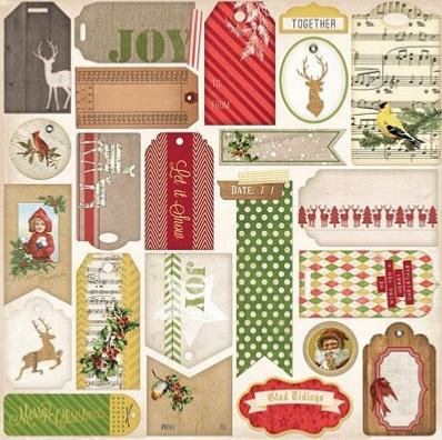 BoBunny : Christmas Collage Glad Tidings