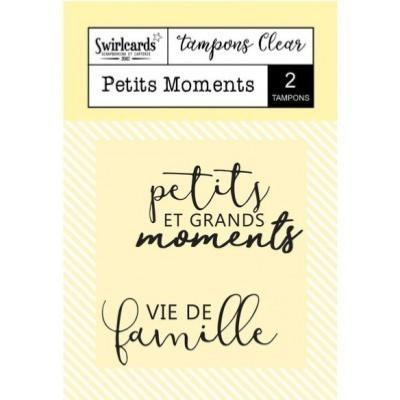Tampon Clear : Petits Moments