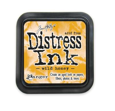 Tim holtz distress ink pad wild honey