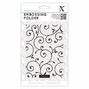 Embossing Folder - Arabesque fine ,