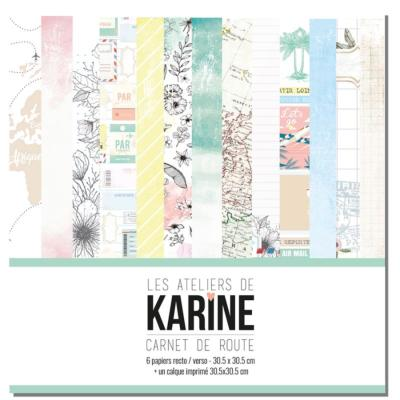 Carnet de route La collection - Les Ateliers de Karine