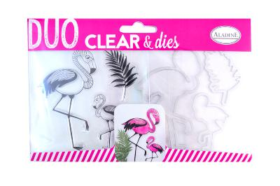 Duo Clear & Dies Flamant Rose