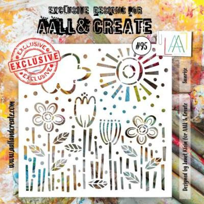 AALL and Create Stencil -Sunrise 95