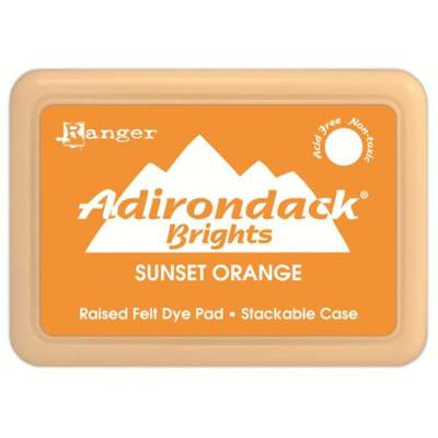 Adirondack Brights Dye Ink-Sunset Orange