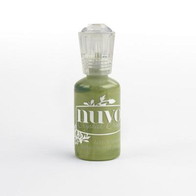 Nuvo Crystal Drops Gloss - Bottle Green