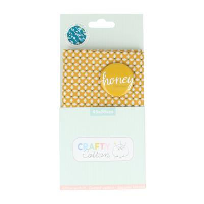 Crafty Cotton : Tissu croix Honey