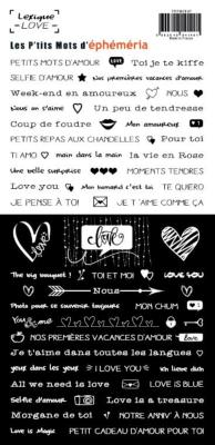 Stickers Lexique Love
