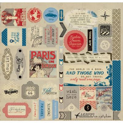 Authentique : Abroad : Stickers