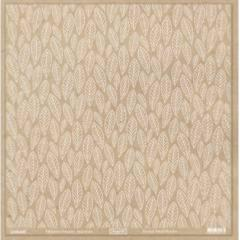 Crystal 30x30 Feuilles Blanc