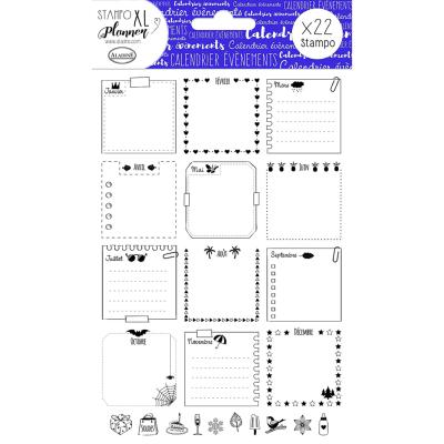 Aladine Stampo  Planner : Page Calendrier