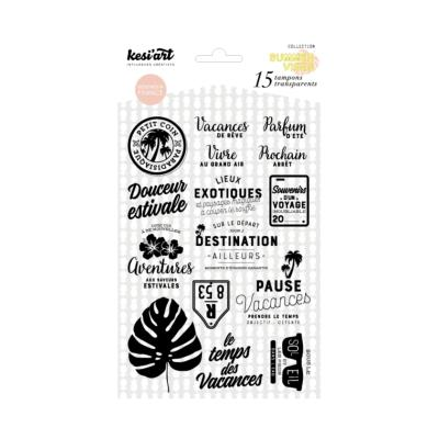 CLEAR STAMPS DOUCEUR ESTIVALE