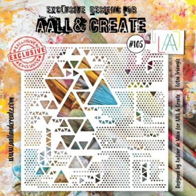 AALL and Create Stencil - Lotza Trianglz -105