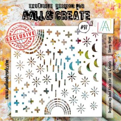 AALL and Create Stencil -Starry Night 97