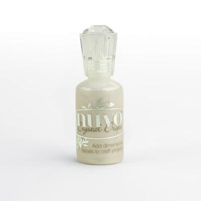 Nuvo Crystal Drops Gloss - Ivory Seashell