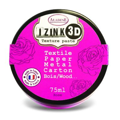 Aladine Izink 3D Textue paste Rose