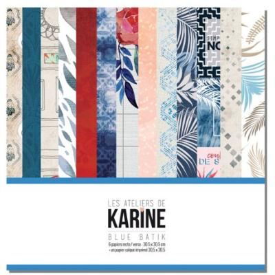 Collection Blue Batik - Les Ateliers de Karine