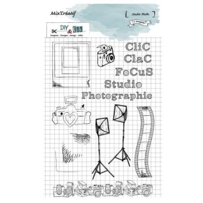 Tampon clear : Studio photo - DIY and Cie