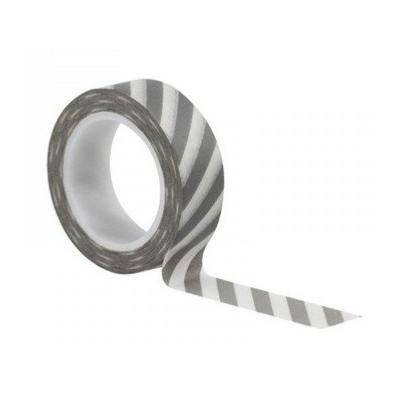 Washi Tape Stripes Grey