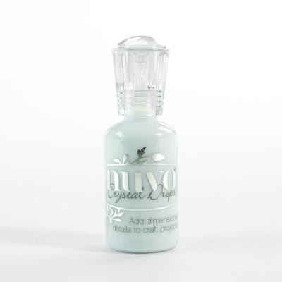 Nuvo Crystal Drops Gloss - Pale Duck Egg Blue