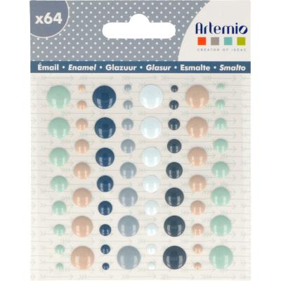 64 Points Enamel - Woodland - Artemio