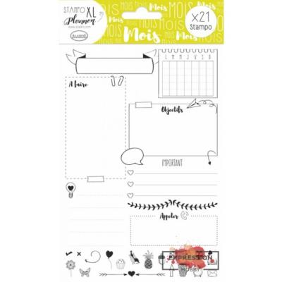 Aladine Stampo XL Planner : page Mois