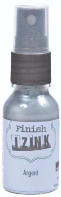 Encre Izink Dye Finish en Spray Argent