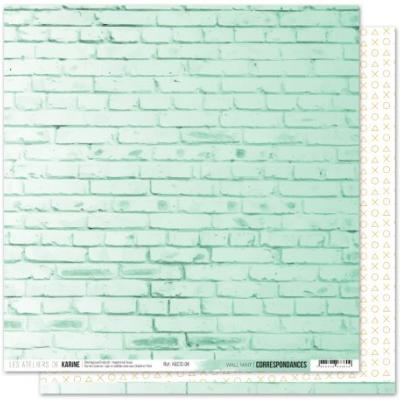 Correspondances Wall Mint