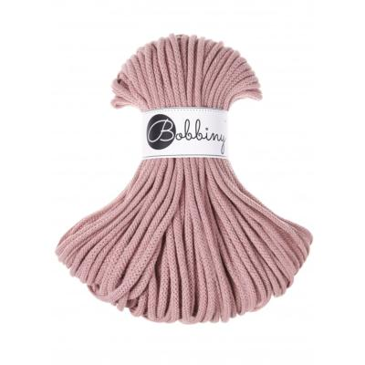 Bobbiny Cordon de coton BLUSH 5MM 50M