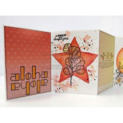 PAPIERS FORMAT A4 300G COLLECTION HOLLY JOLLY