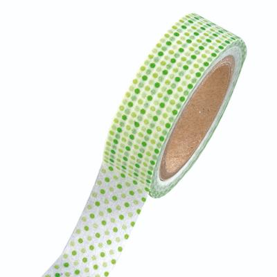 Washi tape Points micro Vert