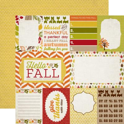 Carta Bella : A Perfect Autumn :Journaling Cards In Stock