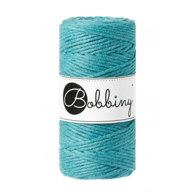 Bobbiny coton Simple torsion : Teal -3mm (100m)